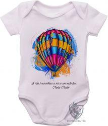 Roupa Bebê Balão Charles Chaplin