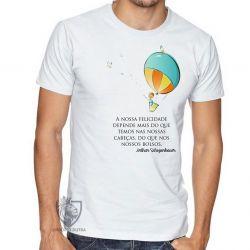 Camiseta Balão Arthur Schopenhauer