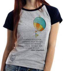 Blusa Feminina Balão Arthur Schopenhauer