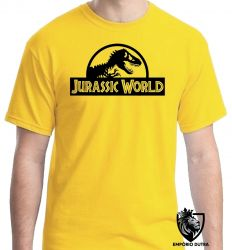 Camiseta Jurassic Park Dinossauro Rex