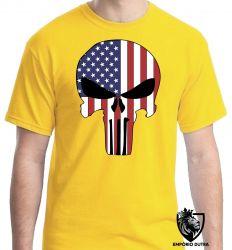 Camiseta Justiceiro Estados Unidos