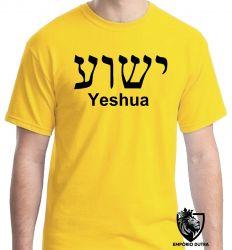 Camiseta Jesus Cristo Heshua Aramaico