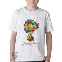 Camiseta Infantil Balão Thich Nhat Hanh