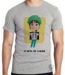 Camiseta A arte de cuidar