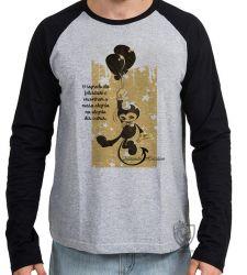 Camiseta Manga Longa frase Alexandre Herculano