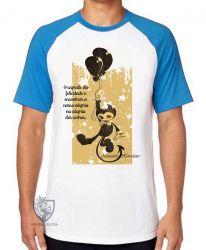 Camiseta Raglan frase Alexandre Herculano
