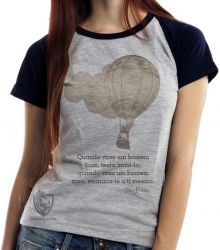 Blusa Feminina frase Confúcio