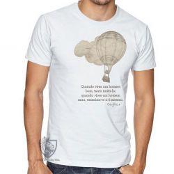 Camiseta frase Confúcio