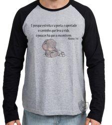 Camiseta Manga Longa Mateus 07 14