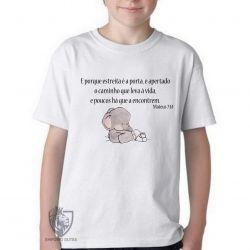 Camiseta Infantil Mateus 07 14