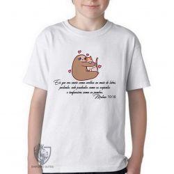 Camiseta Infantil Mateus 10 16