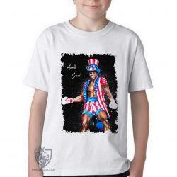 Camiseta Infantil Apollo Creed