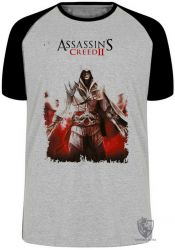 Camiseta Raglan Assassins Creed II