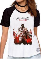 Blusa Feminina Assassins Creed II