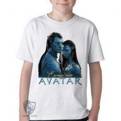 Camiseta Infantil Avatar Eu vejo você