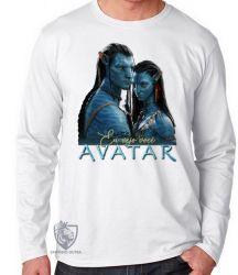 Camiseta Manga Longa Avatar Eu vejo você