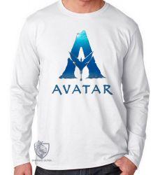 Camiseta Manga Longa Avatar logo
