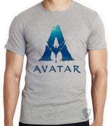 Camiseta Infantil Avatar logo