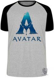 Camiseta Raglan  Avatar logo