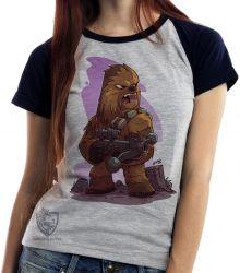 Blusa Feminina Chewbacca desenho