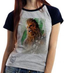 Blusa Feminina Chewbacca gritando