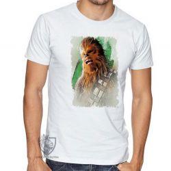 Camiseta Chewbacca gritando