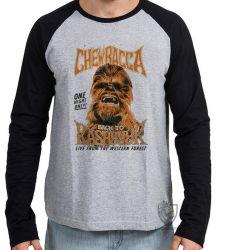 Camiseta Manga Longa Chewbacca kashyk