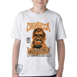 Camiseta Infantil Chewbacca kashyk
