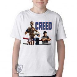 Camiseta Infantil Creed bebê