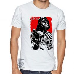 Camiseta Darth Vader fé