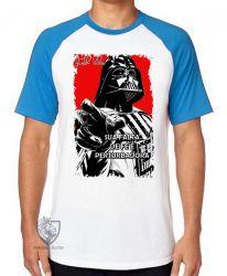 Camiseta Raglan Darth Vader fé