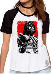 Blusa Feminina Darth Vader fé