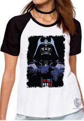 Blusa Feminina Darth Vader preto