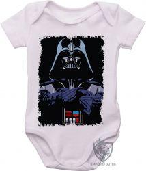 Roupa Bebê Darth Vader preto