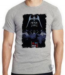 Camiseta Infantil Darth Vader preto