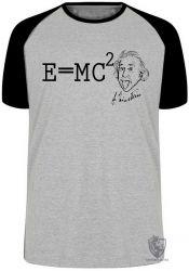 Camiseta Raglan fórmula Einstein