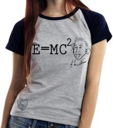 Blusa Feminina fórmula Einstein