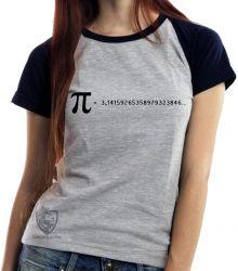 Blusa Feminina fórmula Pi