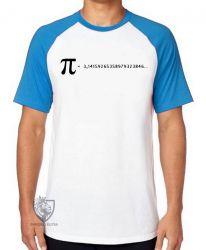 Camiseta Raglan fórmula Pi