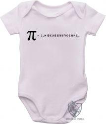 Roupa Bebê fórmula Pi
