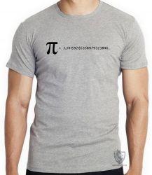 Camiseta fórmula Pi