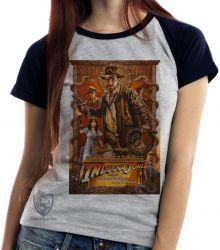 Blusa Feminina Indiana Jones e a arca