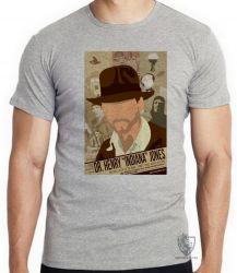 Camiseta Infantil Indiana Jones jornal