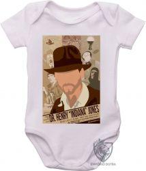 Roupa Bebê Indiana Jones jornal