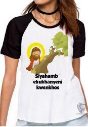Blusa Feminina Jesus Siyahamba
