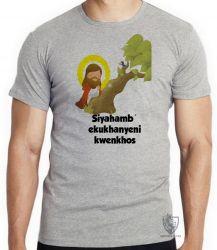Camiseta Infantil Jesus Siyahamba