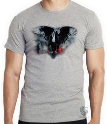 Camiseta Infantil John Constantine arma