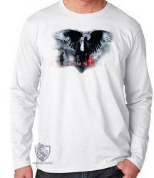 Camiseta Manga Longa John Constantine arma