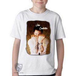 Camiseta Infantil John Constantine demônios
