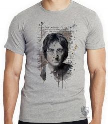 Camiseta Infantil John Lennon Imagine